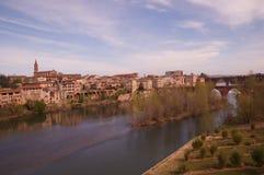 Vista di Albi in Francia Fotografia Stock Libera da Diritti