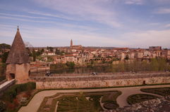 Vista di Albi in Francia fotografia stock