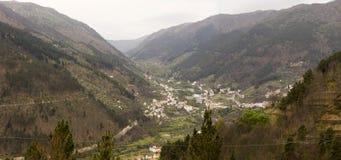 Vista di Aldeias Portogallo Fotografia Stock