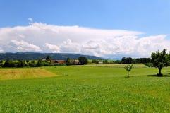 Vista di Allgaeu Immagini Stock