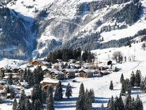 Vista di Alpin Immagini Stock Libere da Diritti