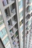 Vista di alta costruzione a Bangkok, Tailandia Immagini Stock