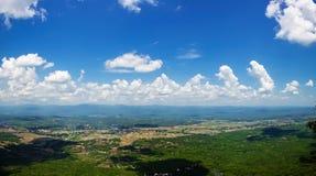 Vista di alto angolo delle zone rurali Fotografia Stock Libera da Diritti