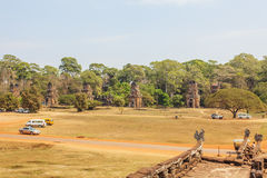 Vista di Angkor, Siem Riep, Cambogia Immagini Stock Libere da Diritti
