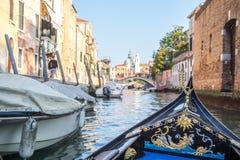 Vista di architettura veneziana durante la luce del giorno Fotografia Stock Libera da Diritti