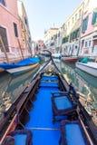Vista di architettura veneziana durante la luce del giorno Fotografie Stock Libere da Diritti