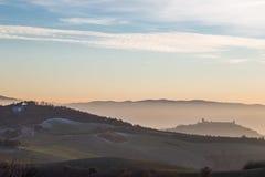 Vista di Assisi Fotografie Stock Libere da Diritti