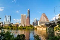 Vista di Austin, orizzonte del centro fotografia stock libera da diritti