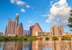 Vista di Austin, orizzonte del centro immagine stock libera da diritti