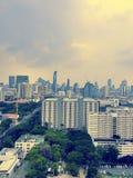 Vista di Bangkok Fotografia Stock