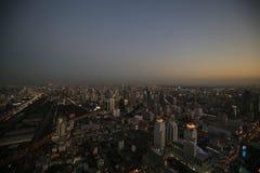 Vista di Bangkok Fotografia Stock Libera da Diritti