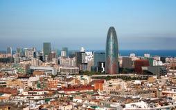 Vista di Barcellona, Spagna Immagine Stock