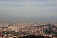 Vista di Barcellona, Spagna Fotografie Stock Libere da Diritti