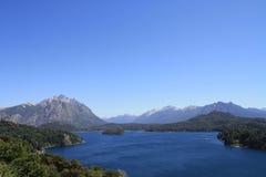 Vista di Bariloche Fotografia Stock