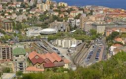 Vista di Bastia Immagini Stock