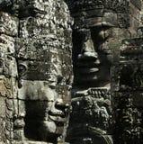 Vista di Bayon Wat, SiemRiep, Cambogia Immagine Stock Libera da Diritti
