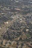 Vista di Belgrado fotografie stock libere da diritti