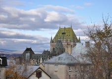 Vista di bella vecchia città Fotografie Stock Libere da Diritti