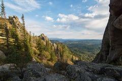 Vista di bellezza in montagne di Altai Immagini Stock