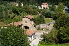Vista di Bergamo Immagine Stock