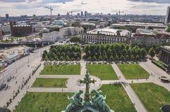 Vista di Berlino dalla cattedrale Fotografia Stock Libera da Diritti