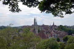 Vista di Berna Fotografia Stock
