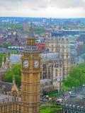 Vista di Big Ben Fotografie Stock Libere da Diritti