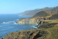 Vista di Big Sur Immagine Stock