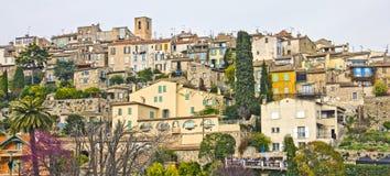 Vista di Biot, sud della Francia fotografia stock libera da diritti