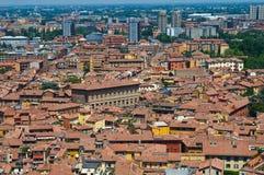 Vista di Bologna L'Emilia Romagna L'Italia Immagini Stock Libere da Diritti