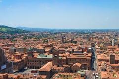 Vista di Bologna L'Emilia Romagna L'Italia Fotografia Stock Libera da Diritti