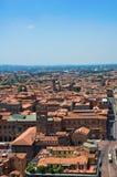 Vista di Bologna L'Emilia Romagna L'Italia Fotografia Stock