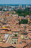 Vista di Bologna L'Emilia Romagna L'Italia Immagine Stock
