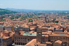 Vista di Bologna L'Emilia Romagna L'Italia Fotografie Stock Libere da Diritti