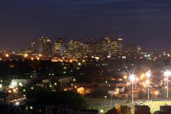 Vista di Boston Fotografia Stock Libera da Diritti