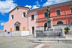 Vista di Brienza La Basilicata L'Italia Fotografia Stock Libera da Diritti