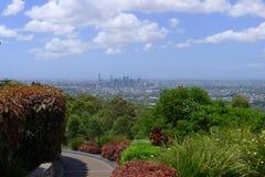 Vista di Brisbane Fotografia Stock