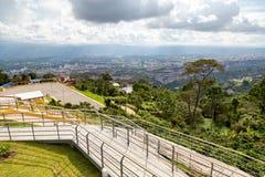 Vista di Bucaramanga Fotografia Stock