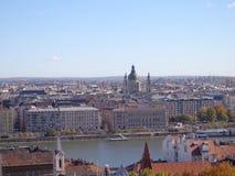 Vista di Budapest Fotografia Stock Libera da Diritti