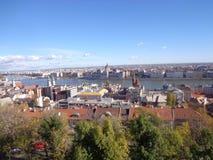 Vista di Budapest Fotografie Stock