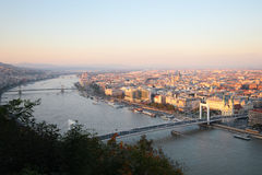 Vista di Budapest fotografia stock