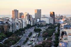 Vista di Buenos Aires, Argentina, diciottesima di febbraio di 2017 immagini stock