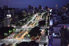 Vista di Buenos Aires, Argentina, diciottesima di febbraio di 2017 fotografie stock libere da diritti