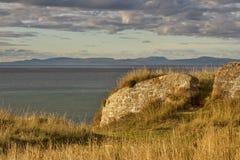 Vista di Burghead di Cromarty. Fotografia Stock