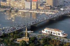 Vista di Cairo immagini stock