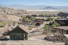 Vista di calicò, California, San Bernardino County Fotografia Stock Libera da Diritti