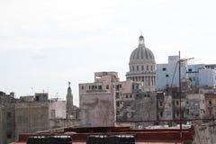 Vista di Campidoglio da un alto tetto Immagine Stock Libera da Diritti