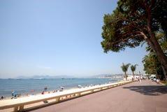 Vista di Cannes (riviera francese Fotografia Stock