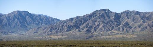 Vista di Cenic delle montagne a San Juan, Argentina Fotografia Stock Libera da Diritti