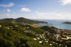 Vista di Charlotte Amalie   Fotografia Stock